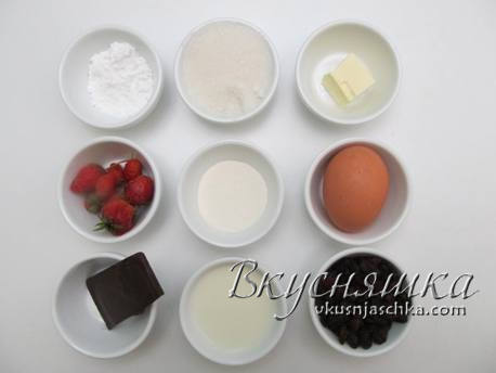 Рецепт кексов с белковым кремом