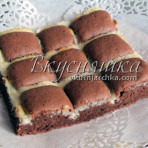 """Шоколадный пирог """"Подушечки"""""""