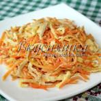 изображение Салат с курицей и омлетом рецепт с фото