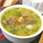 Рецепт супа с потрошками и рожками