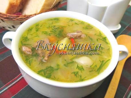 рецепт супа