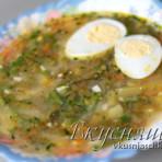 изображение Щавелевый суп рецепт классический