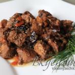 изображение Мясо с черносливом в мультиварке рецепт с фото
