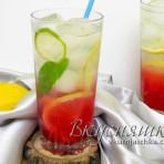 Освежающий коктейль с мёдом и морской солью