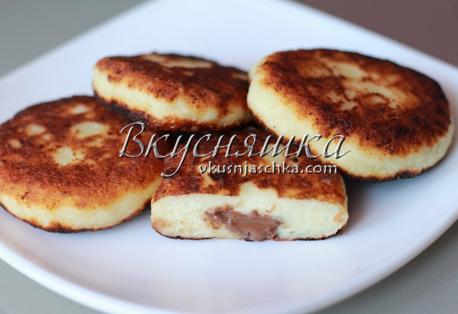 изображение Рецепт сырников из творога на сковороде с фото