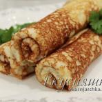 Рецепт блинов из кабачка