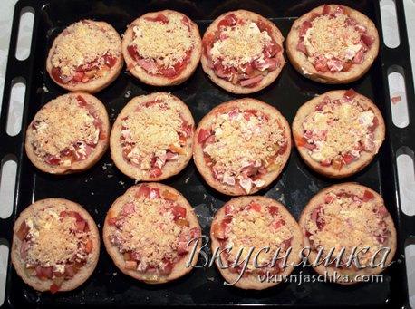 изображение Пицца в хлебе в духовке