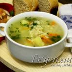 суп в мультиварке, суп с булгуром, рецепты для мультиварки