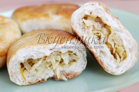 изображение Пирог из дрожжевого теста в духовке как испечь