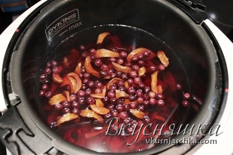 изображение Компот из сушеных яблок рецепт