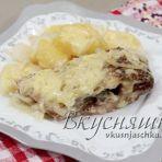 karp-zapechennyj-v-folge-s-kartofelem