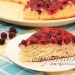 изображение Пирог с замороженной смородиной рецепт с фото
