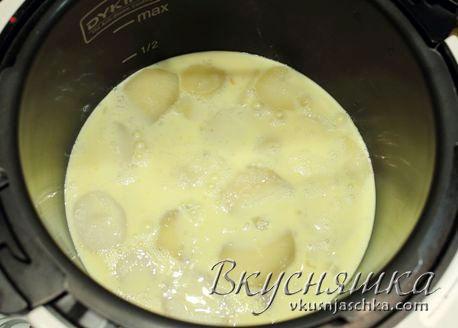 изображение Рецепт Картофельная запеканка в мультиварке с фото