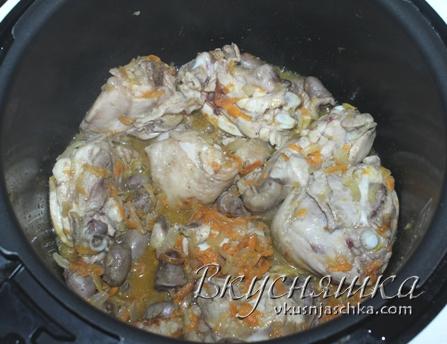 изображение Куриное филе в сметанном соусе в мультиварке