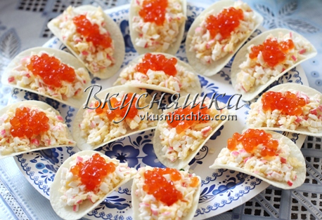 изображение Закуска на чипсах рецепт с фото
