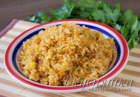 изображение Рис в сковороде рассыпчатый