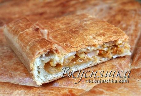 изображение Тесто для пирогов без дрожжей на кефире