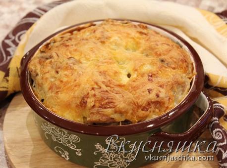 изображение Курица с гречкой в духовке рецепт с фото пошагово