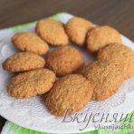 изображение Диетическое овсяное печенье из овсяных хлопьев. Рецепт с фото пошагово
