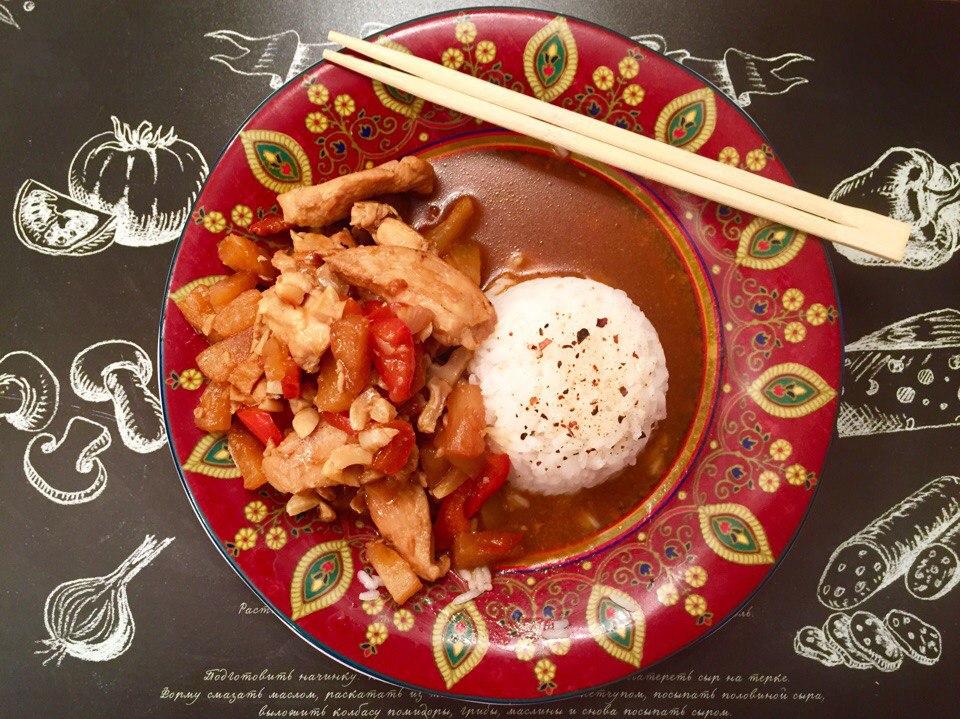 изображение Курица терияки с соусом рецепт с фото
