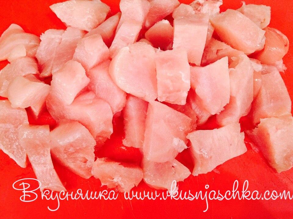 изображение Курица в сливочном соусе рецепт на сковороде
