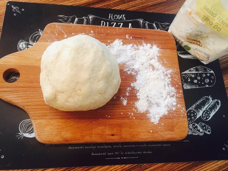 изображение Тесто для пирога песочно-дрожжевое