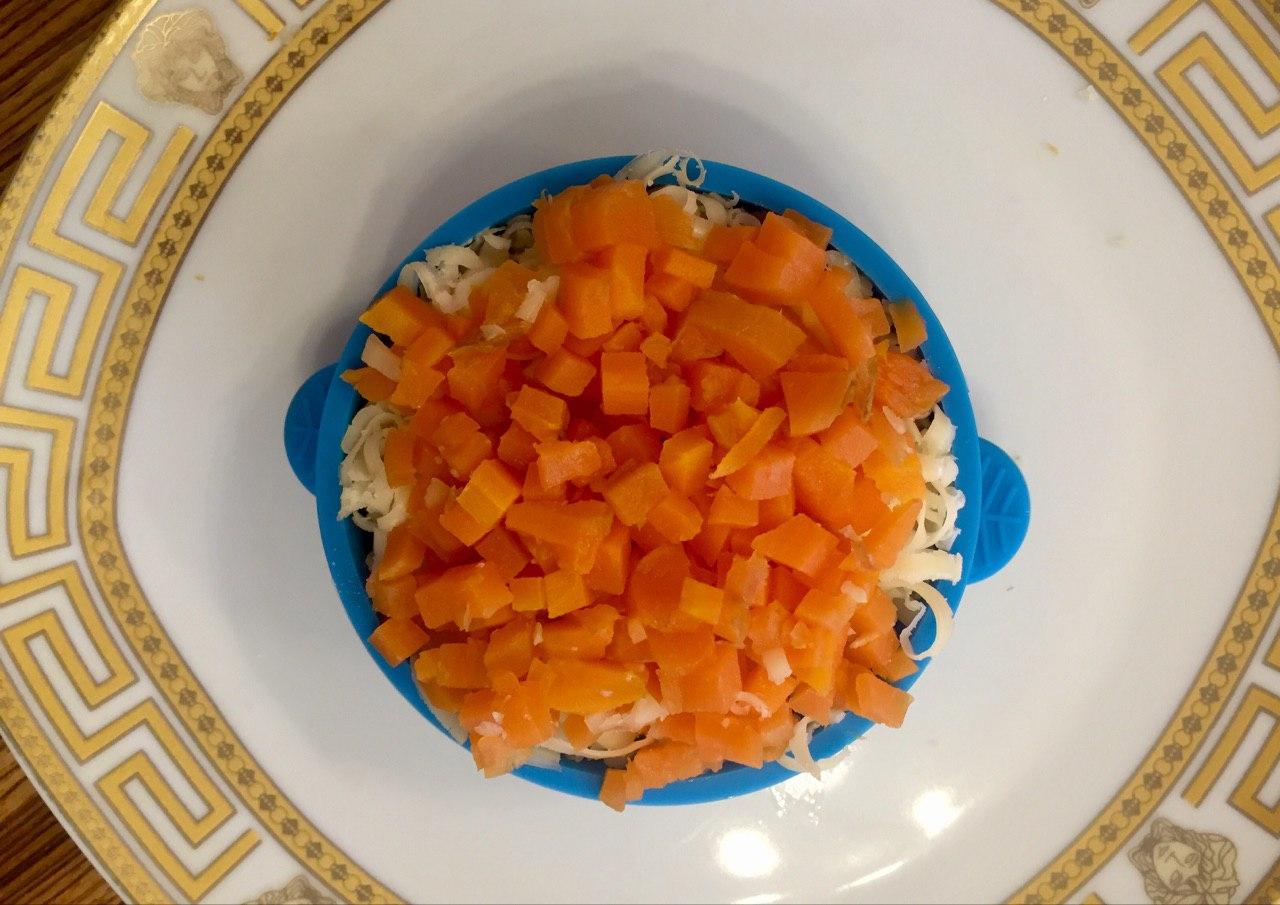 Салат Клюквенная шапочка. Рецепт с фото.